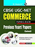 CBSE-UGC-NET: Commerce Previous Papers (Solved)