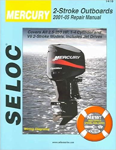mercury & mariner outboards 2001-2014 all 2 stroke models 1st edition