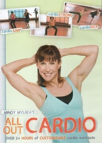 Mindy Mylrea's All Out Cardio DVD by Minndy Mylrea