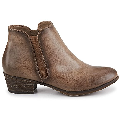 2c27546fae lovely XAPPEAL Womens Colby Chelsea Ankle Bootie Shoes - sccog.com