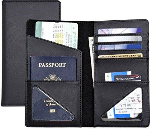 Passport Wallet, Passport Holder, Passport case, Travel accessory, Leatherette
