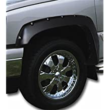 Stampede 8408-2F Front Ruff Riderz Fender Flare for Chevrolet/GMC, Pair (Smooth Black)