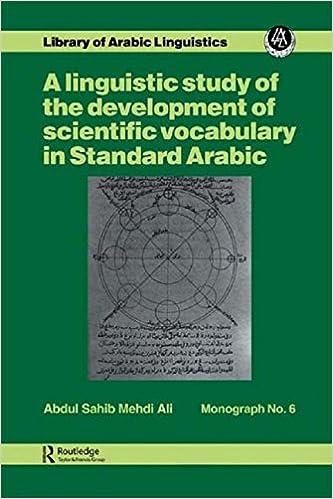 Ling Stu Of Dev Scient Vocab Ara (Library of Arabic Linguistics Monograph)
