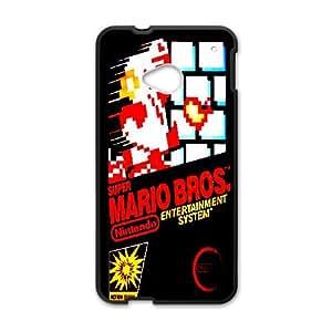 Custom Case Super Mario Bros games PHONE Case For HTC One M7 ZZ29W2261