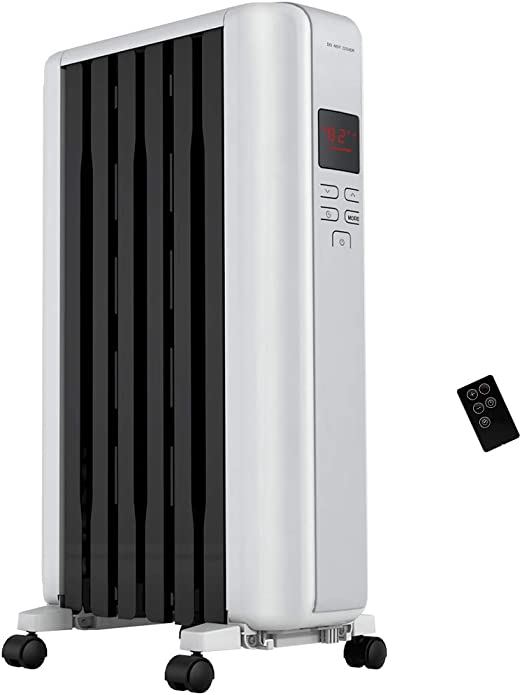 Pelonis Oil Filled Convection Radiator Electric Space Heater