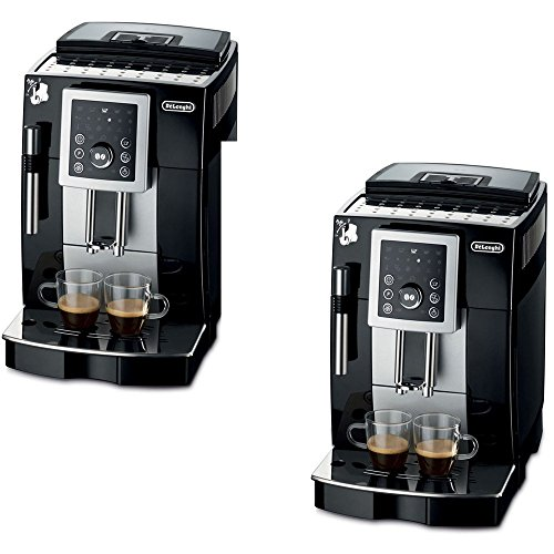 De'Longhi Black Fully Automatic Espresso Machine - De'Longhi Model - ECAM23210B - Set of 2 Gift Bundle