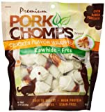 Cheap Premium Pork Chomps Mini Knotz Chicken 3-4″, 18Ct