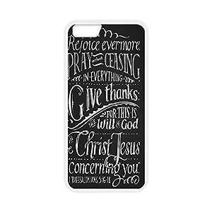 Custom Personalized Vital Design Soft TPU Case Back Cover Case Bible Verse for iphone 6 Plus 5.5