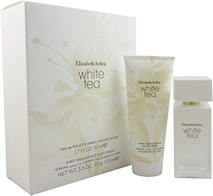 Elizabeth Arden White Tea Set (Eau de Toilette 50 ml y Body Cream 100 ml): Amazon.es: Belleza