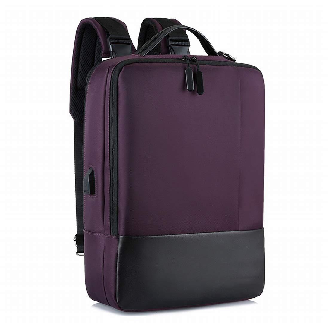 Olprkgdg Multifunktionaler Business-Rucksack Schulter-Rucksack Rucksack mit USB-Aufladung (Farbe     schwarz) B07PDDWRWR Daypacks Ausgezeichnet 916cea