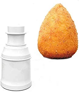 Arancini Maker Mold, DIY Rice Ball Mould for Snack Meatballs Potato Croquettes (Pointed)