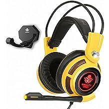 ABKO B510U PRO Virtual 7.1CH Gaming Laptop Vibration Microphone Headset USB 2.2M PC Minimize Noise
