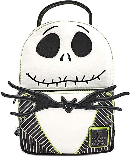 Loungefly x Nightmare Before Christmas Jack Skellington Cosplay Mini Backpack