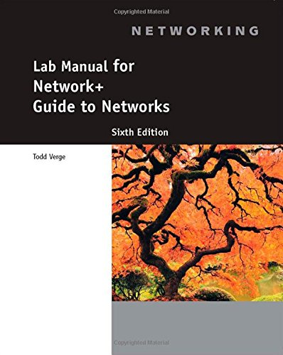 Lab Manual For Network  Guide To Networks  6Th