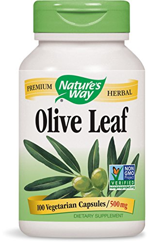 Nature's Way Olive Leaf, 100 Capsules (Pack of 2) ()