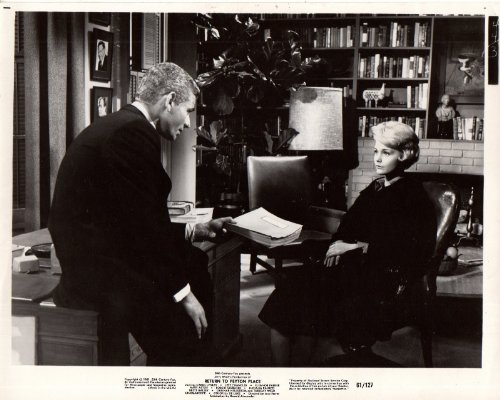 Return to Peyton Place Jeff Chandler Carol Lynley Original 8x10 Photo L6493 (Chandler Chandler Place)