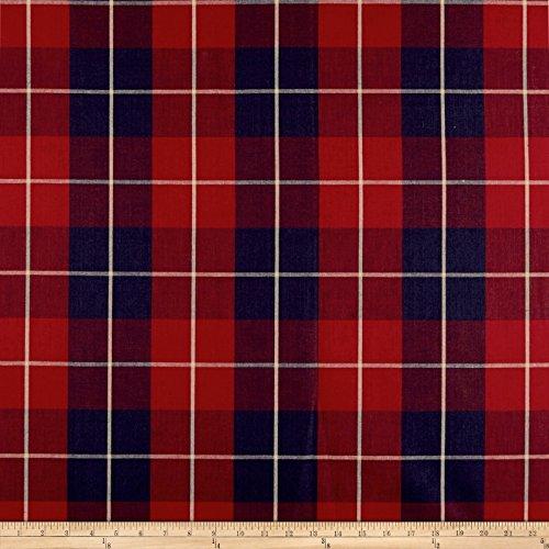 Ralph Lauren Plaid Fabric - Ralph Lauren Home LFY68316F Palm Harbor Plaid Fabric by the Yard, Maasai