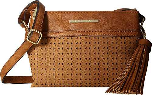 Boho-Chic Vacation & Fall Looks - Standard & Plus Size Styless - Steve Madden Women's Bmellie Crossbody Cognac Crossbody Bag