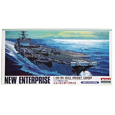 USS Aircraft Carrier New Enterprise (CVN-65) (Plastic model) Micro Ace(Arii) 1/400 Big Scale Battle Ship