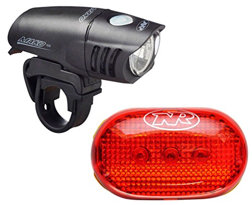 NiteRider Mako 100 TL5.0 SL Headlight and Taillight Combo - Niterider Mako 100 Headlight