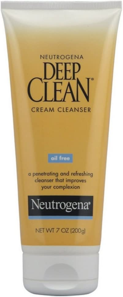 Neutrogena Deep Clean Cream Cleanser 7 oz ( Pack of 4)