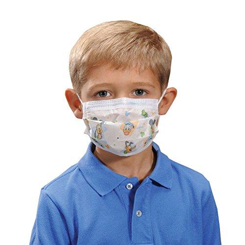 Pediatric Box - HALYARD Child's Masks, Pediatric, Child, Disney Print 32856 (Box of 75)