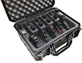 Case Club Waterproof 5 Pistol Case with Silica Gel