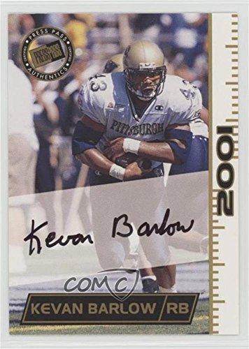 Kevan Barlow (Football Card) 2001 Press Pass - Autographs #KEBA