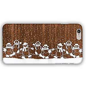 Christmas Snowmen Holiday Fun in the Snow iPhone 6 Plus Slim Phone Case