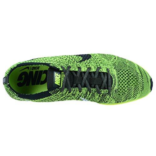 NIKE Unisex Flyknit Streak Running Shoe Volt/Black-sequoia D2Cr6lmZFo
