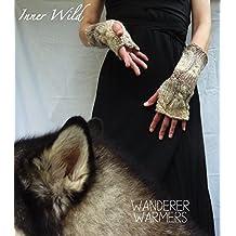 Inner Wild Wanderer Warmers: beautiful cable fingerless gloves easy knit pattern (Inner Wild, wilderness wear for dearhearts)