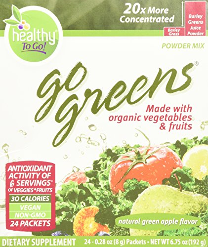 To Go Brands Go Greens, 24 Count Boxes, Net Wt. ()