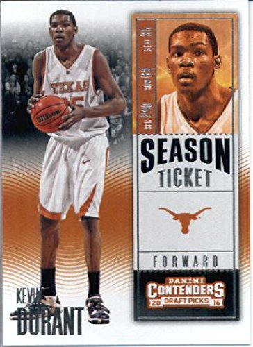 (2016-17 Panini Contenders Draft Picks #57 Kevin Durant Texas Longhorns Basketball Card)