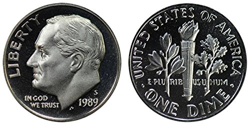 1989 S Proof Roosevelt Dime PF1