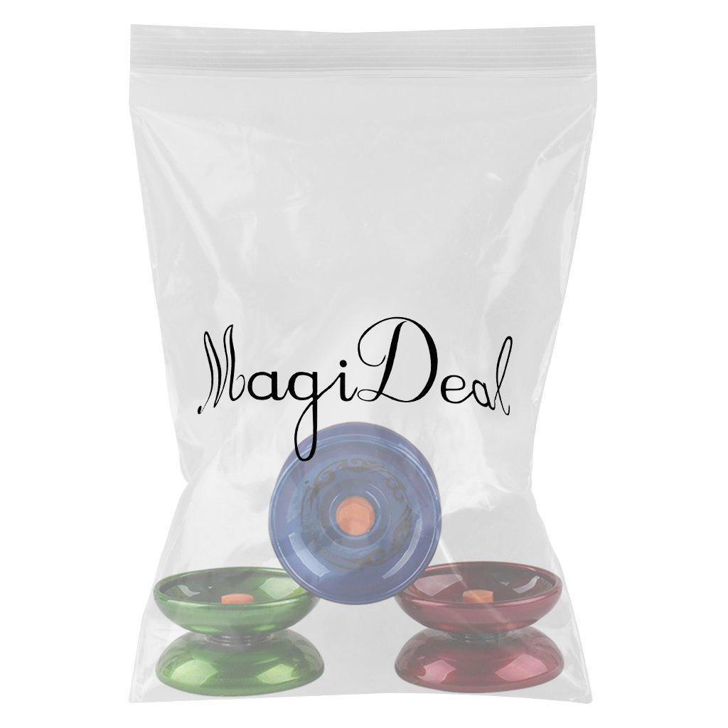 MagiDeal Legierung JoJo Professionelle Magie Yo Yo String Kinder Spielzeug Geschenk Trick