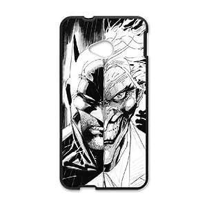 HTC One M7 Cell Phone Case Black Batman Joker osct
