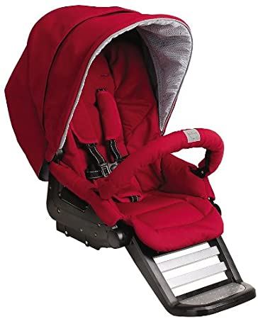 Teutonia T Stroller Seat Venetian Red Discontinued By Manufacturer