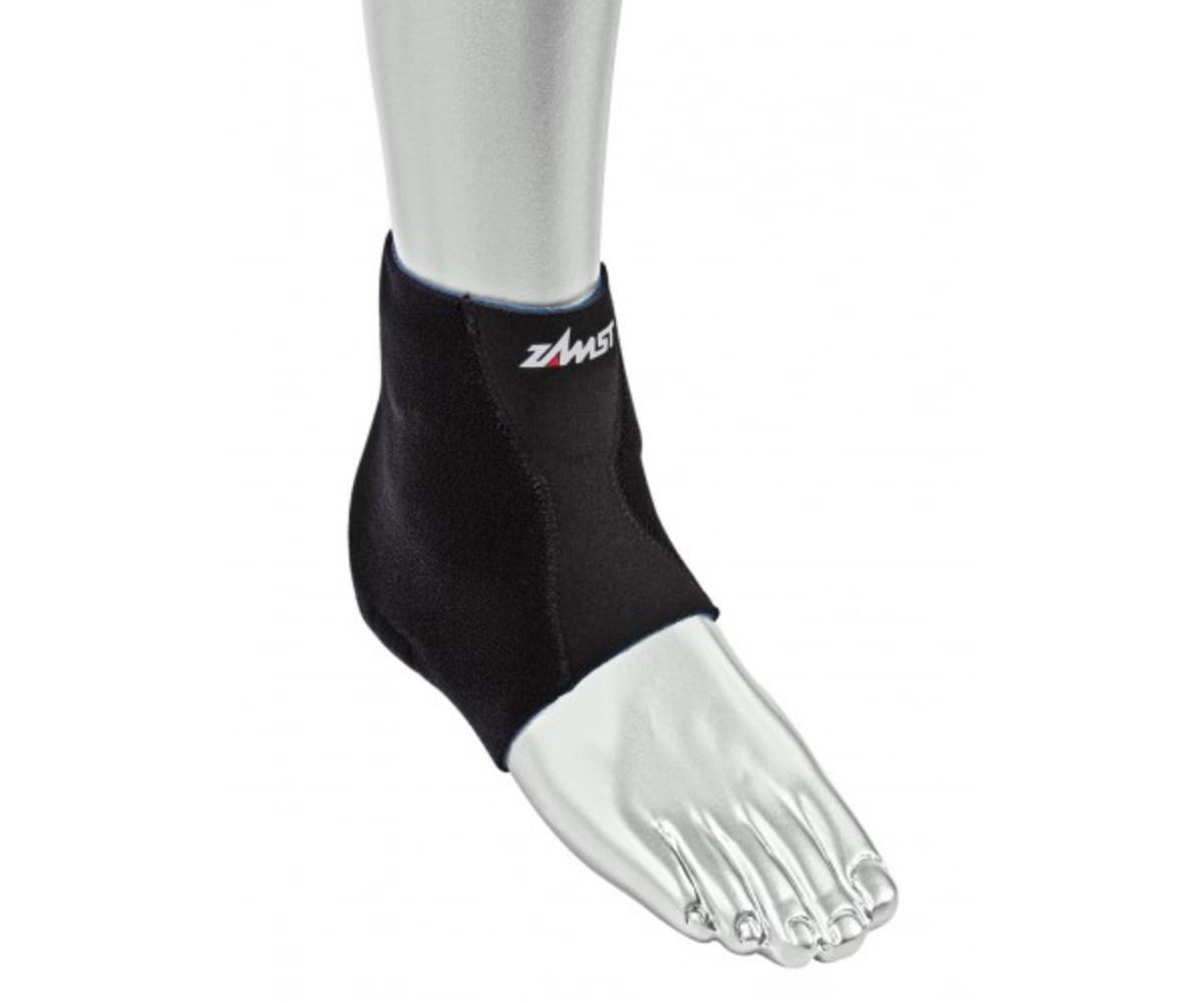 Zamst FA-1 Ankle Brace, Black, Large