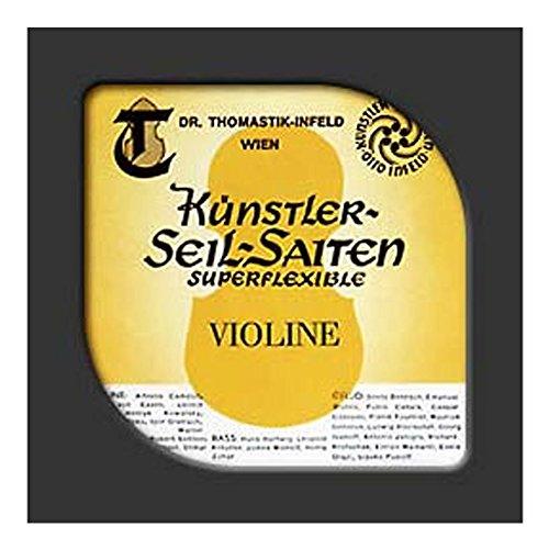 Thomastik-Infeld 37 Super Flexible Braided Steel Core Single Bowed Bass String, Chrome Wound, Medium Gauge by Thomastik-Infeld
