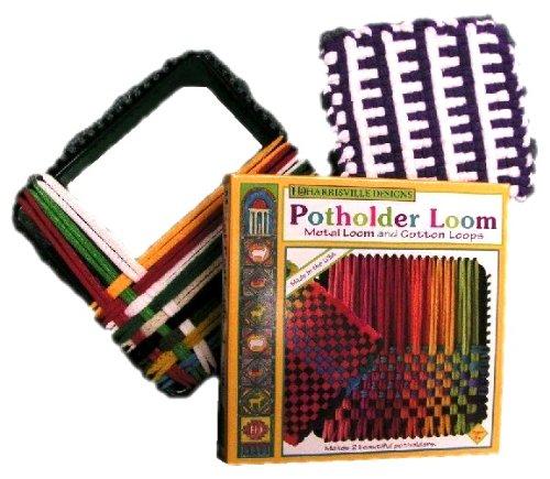 Harrisville Designs 7″ Potholder (Traditional Size) Loom Kit, Baby & Kids Zone