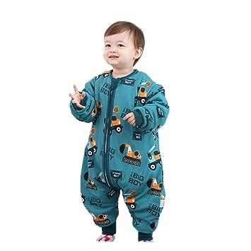 HAIMING-sleeping bag Mono De Bebe Saco De Dormir De La Pierna del Bebé Pijamas De Bebe-Baby Legs Saco De Dormir Niños Anti-Kick Edredón Artefacto Four ...