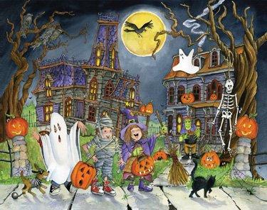 Little Goblins Halloween Countdown (Halloween Advent Calendar)