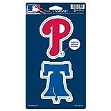 "WinCraft MLB Philadelphia Phillies WCR62515014 Magnets (2 Pack), 5"" x 9"""