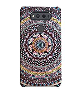 ColorKing Shell Case Cover For Lg V20, Multi Color
