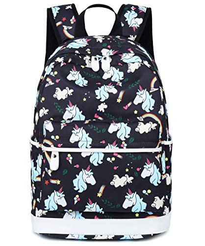 a29f89fde9da School Backpack for Girls Student Bookbags Laptop Rucksack School Bags with  Shoulder Bag Travel Casual Daypack