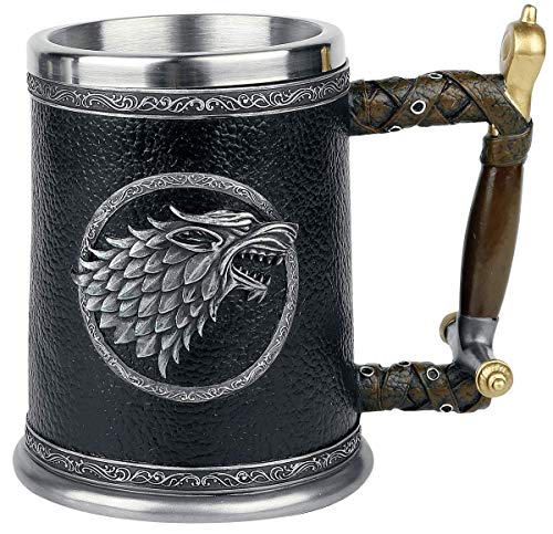 Game of Thrones Winter is Coming Tankard by Game of Thrones (Image #2)