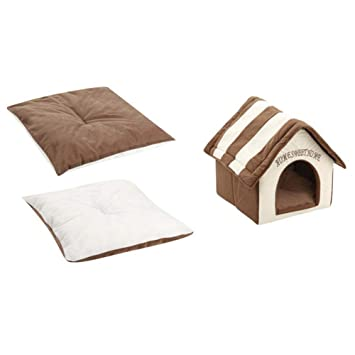 Augproveshak - Caseta de Invierno para Perros y Gatos, Color café, Resistente al Desgaste y a los arañazos: Amazon.es: Productos para mascotas