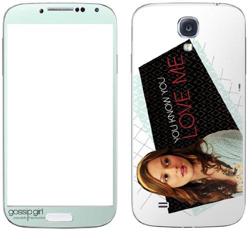Zing Revolution Gossip Girl Premium Vinyl Adhesive Skin for Samsung Galaxy S4, Blair (MS-GGRL10456)