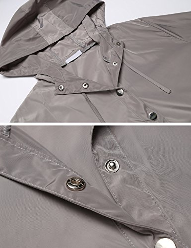 SummerRio Women's Long Sleeve Hoodies Pullover Button Patchwork Sweatshirt Jacket by SummerRio (Image #6)