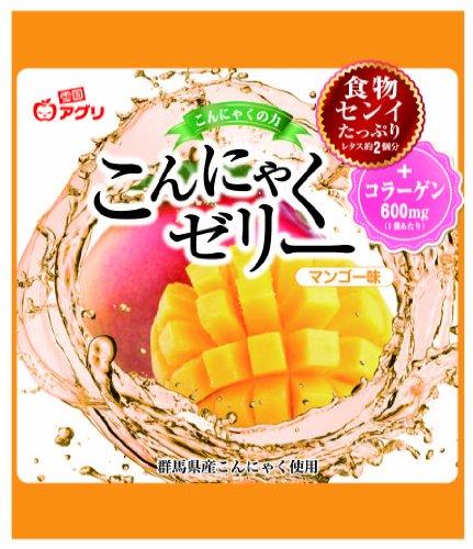 Snow Country Agri konjac jelly mango flavor (18gX6 pieces...